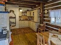 Kuchyňská linka - pronájem chalupy Rváčov