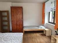 ložnice 5 lůžek - pronájem apartmánu Rohozná