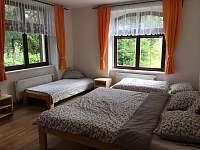 ložnice 5 lůžek - apartmán k pronajmutí Rohozná