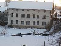 mlýn v zimě - pronájem apartmánu Rohozná