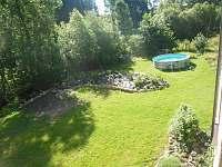 zahrada - apartmán k pronajmutí Rohozná