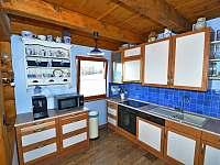 Kuchyňka 2 - chata k pronájmu Jedlová