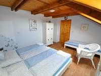 Modrý pokoj - dvou a jednolůžko