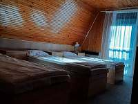 Třílůžkový pokoj (součást dvoupokoje) - chata k pronajmutí Kralice nad Oslavou - Velké Pole