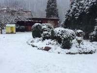 Zahrada v zimě - Nedvědice