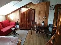 Obývací postor - apartmán k pronájmu Třebíč