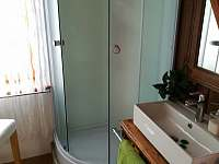 Sprchový kout - pronájem apartmánu Třebíč