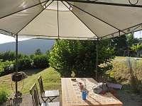 Zahrada - rekreační dům k pronajmutí Toskánsko