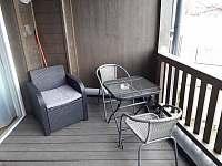 Balkón - pronájem apartmánu Rakousko