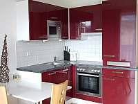 Kuchyňka - apartmán ubytování Rakousko