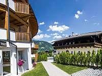 Vstup do domu - pronájem apartmánu Rakousko