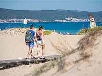 Pláž cca 250m od apartmánu - pronájem Nessebar - Bulharsko