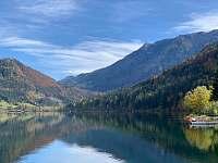 Jezero LunzerSee, 500m od pensionu -