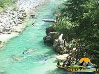Rafting na řece Salze - Lunz am See - Rakousko