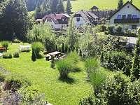 Zahrada - ubytování Lunz am See - Rakousko