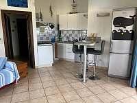 La Perla 4 + kk - kuchyňský kout - apartmán ubytování La Ciaccia - Sardinie