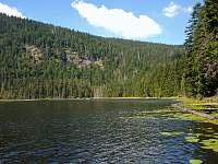 Jezero Velký Javor - pronájem apartmánu Sankt Englmar