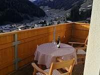 balkon - apartmán k pronajmutí Tux - Rakousko