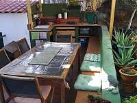 Venkovní kuchyně - ubytování Playa de Mogán, Gran Canaria