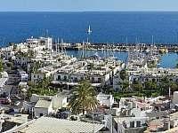 Výhled ze střechy - ubytování Playa de Mogán, Gran Canaria