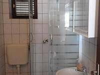 Koupelna - apartmán ubytování Chorvatsko - Miljkovica