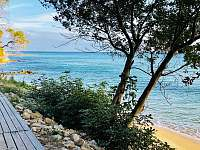 cesta k pláži - Svatý Vlas - Elenité, Bulharsko