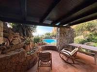 Sardinie rodinný dům  ubytování