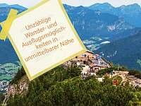 Orli Hnizdo - pronájem apartmánu Berchtesgaden - Bavorsko