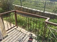 Druhá branka na terase