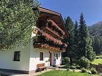 Pohled na dům - chalupa k pronájmu Sankt Jakob in Defereggen