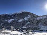 Pohled na údolí - chalupa k pronajmutí Sankt Jakob in Defereggen