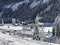 Pohled na údolí - chalupa k pronájmu Sankt Jakob in Defereggen