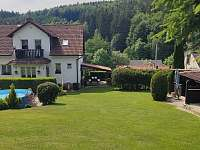 ubytování pro 17 až 20 osob Západní Čechy