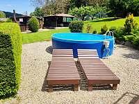 bazén - pronájem chalupy Pivoň