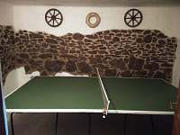 stolní tenis hned vedle baru - Pivoň