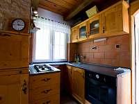 Kuchyňský kout - chata k pronajmutí Mrákov - Mlýneček