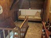 chodba/schodiště - pronájem chalupy Bochov