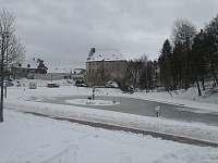 hrad Vildštejn v zimním období - Skalná