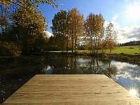 rybníček - chata k pronájmu Plichtice