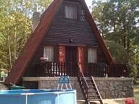 Chata ubytování v obci Hodějov