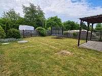 zahrada - chalupa ubytování Žihle