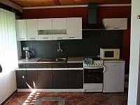 kuchyň - chalupa k pronajmutí Teplá - Rankovice
