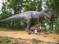 Doporučujeme návštěvu dinoparku - chata k pronajmutí Plzeň - Božkov