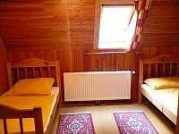ložnice 2 lůžka, lze sem přesunout postýlku