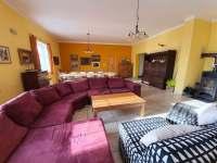 Chalupa Racov - Obývací pokoj celkový pohled -