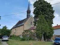 Vesnička Racov - kostel -