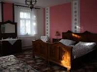 ložnice v přízemí pro 4 osoby