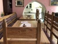 společenská místnost - chalupa ubytování Kundratice