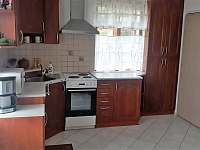 Kuchyně - chalupa k pronajmutí Rabštejn nad Střelou