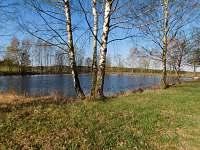 Rybník , cca 2km  od objektu možnost rybaření.